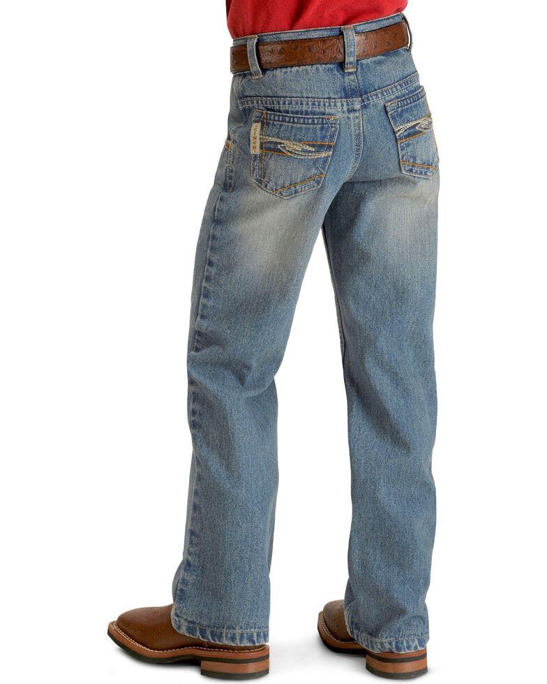 Cinch  Boys' Tanner Regular Cut Jeans - 4-7  , Denim, hi-res
