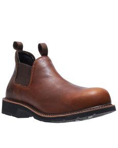 Wolverine Men's Ranchero Romeo Boots - Soft Toe, Brown, hi-res