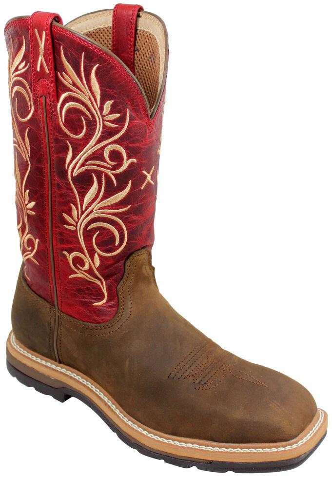 e18478eab4b Twisted X Red Lite Cowgirl Work Boots - Steel Toe