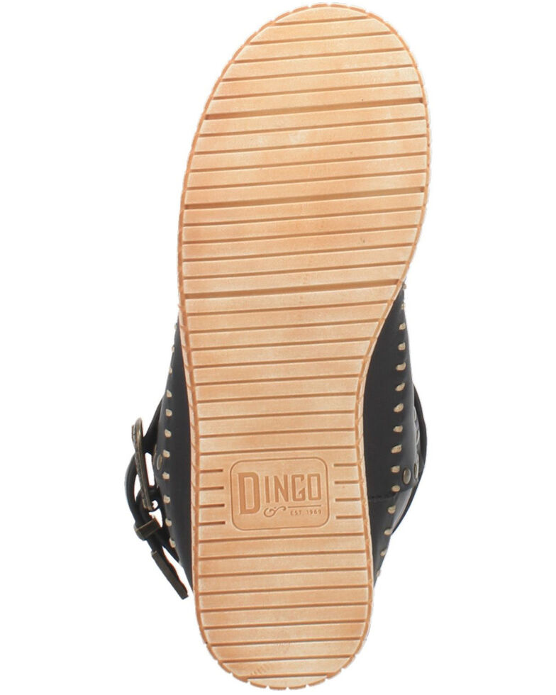 Dingo Women's Malibu Western Boots - Round Toe, Black, hi-res