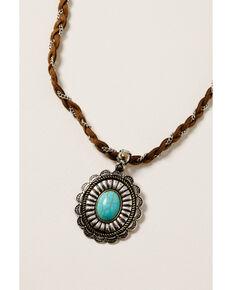 Shyanne Women's Ida Concho Necklace Set, Silver, hi-res