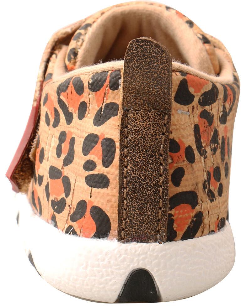 Twisted X Infant Girls' Leopard Print Boots - Moc Toe, Tan, hi-res