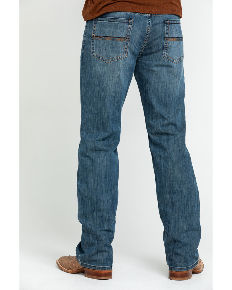 Cody James Men's Bozeman Stretch Slim Bootcut Jeans , Indigo, hi-res
