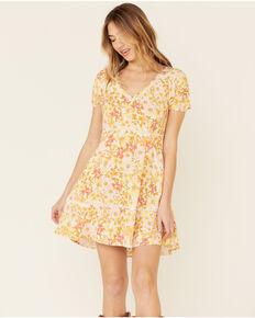 Idyllwind Women's Yellow Floral Girl Next Door Dress, Yellow, hi-res