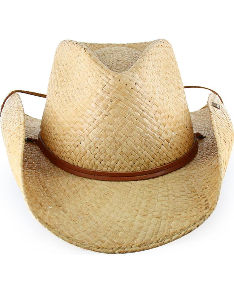 2e5ba2539 Stetson Laurel Raffia Chin Strap Outdoor Hat