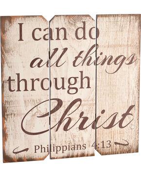 BB Ranch Philippians 4:13 Wall Plaque, No Color, hi-res