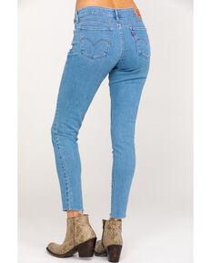 Levi's Women's 711 Azure Stone Skinny Jeans, Blue, hi-res