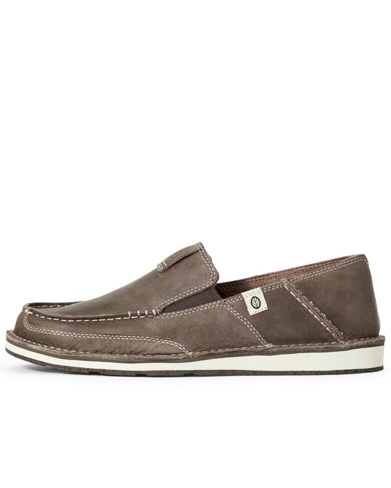 Ariat Men's Eco Cruiser Shoes - Moc Toe, Brown, hi-res