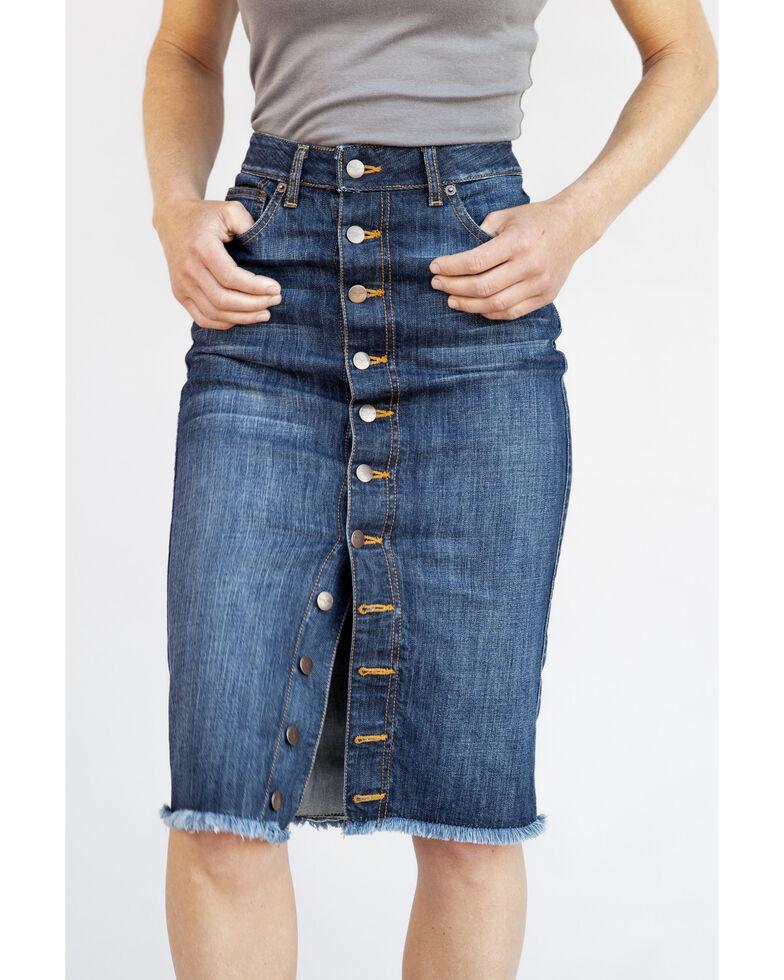 Kimes Ranch Women's Stella Skirt , Blue, hi-res