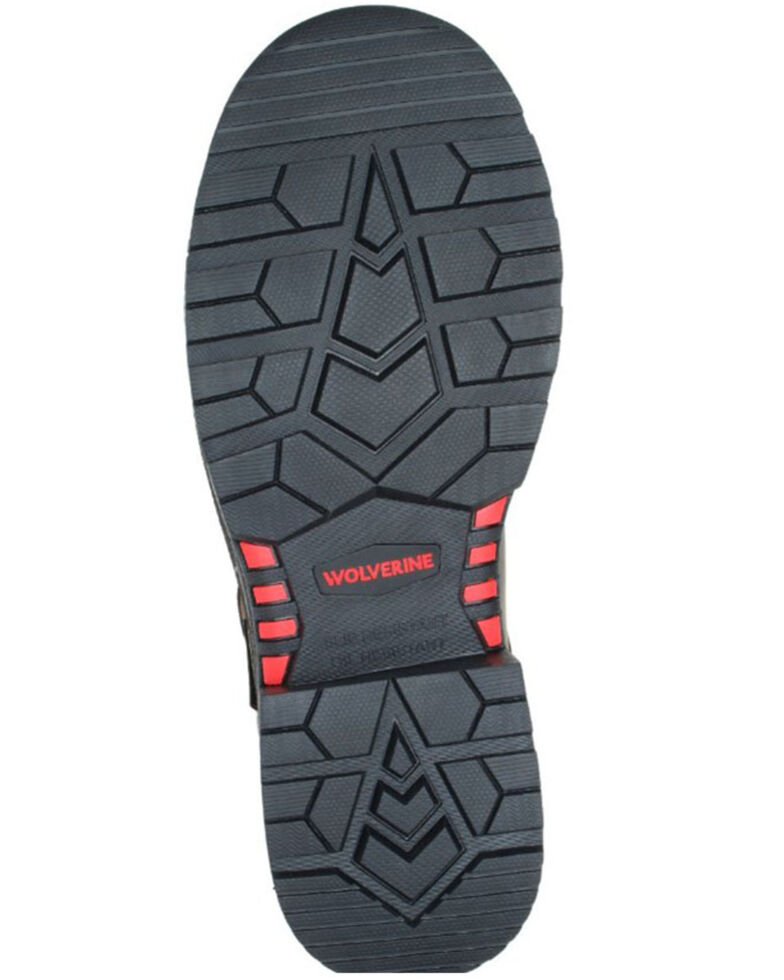 Wolverine Men's Charcoal Hellcat Ultraspring Work Boots - Composite Toe, Charcoal, hi-res