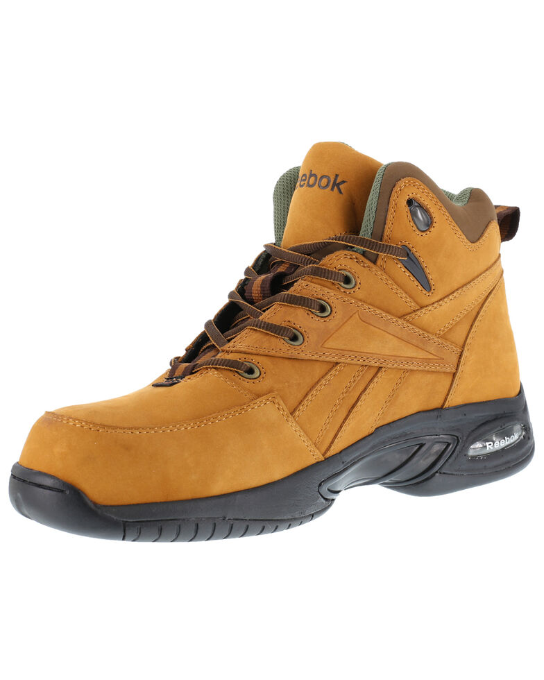 Reebok Men's Tyak High Performance Hiker Work Boots - Composite Toe, Tan, hi-res