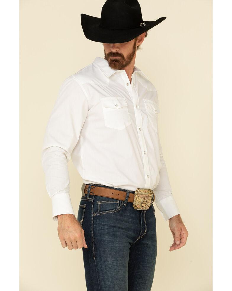 Wrangler 20X Men's No.42 Lawton Dark Stretch Vintage Slim Bootcut Jeans - Long , Blue, hi-res