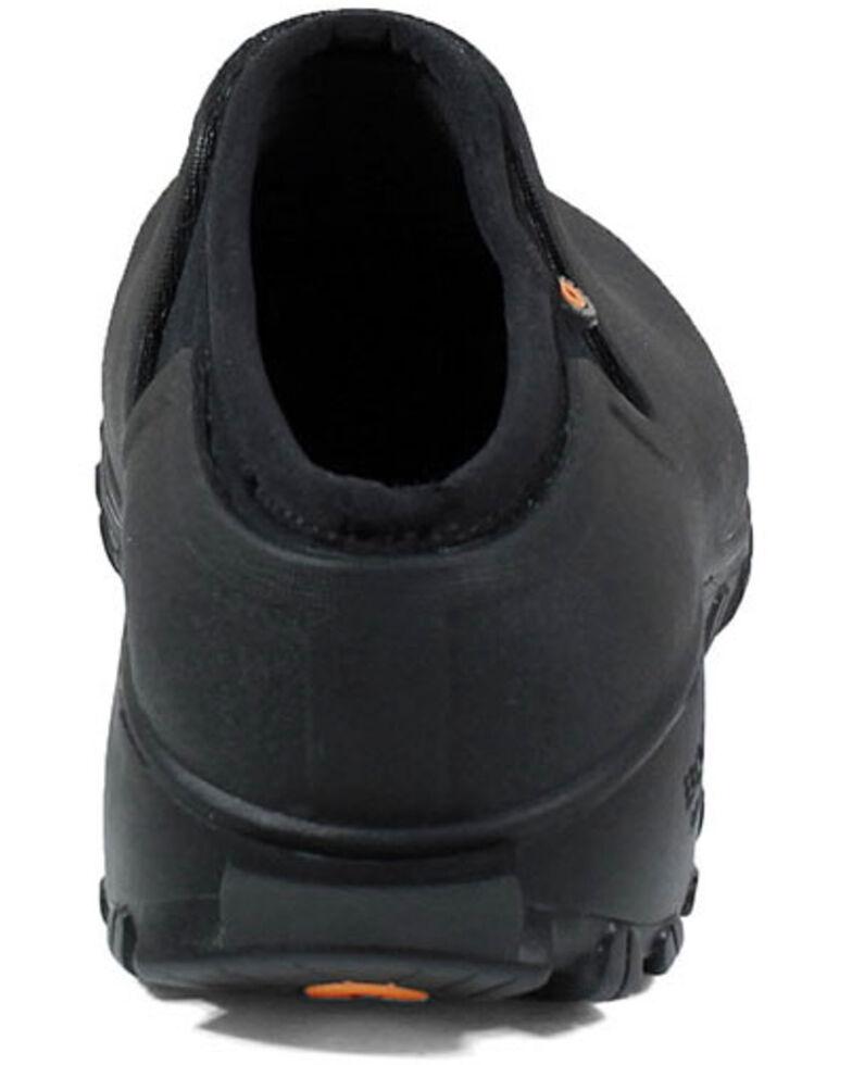 Bogs Women's Black Sauvie Clog Shoes - Round Toe, Black, hi-res