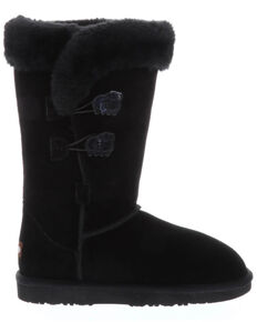 Lamo Footwear Women's Alice Black Winter Boots - Round Toe, Black, hi-res