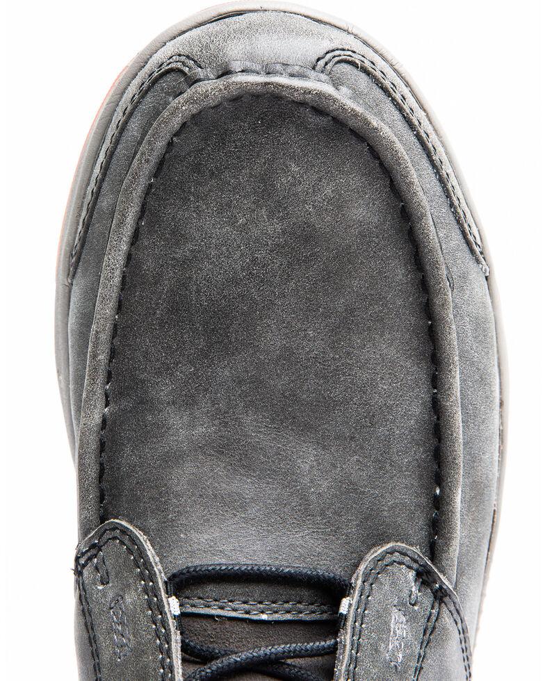 Cody James Men's Chelsea Boots - Moc Toe, Grey, hi-res