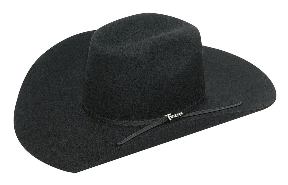 Twister 2X Select Wool Hat, Black, hi-res