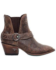 Lane Women's Mattie Fashion Booties - Pointed Toe, Brown, hi-res