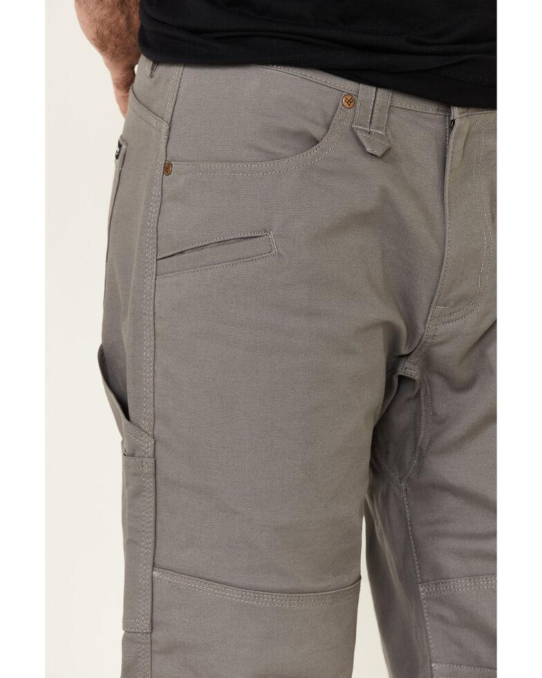 Hawx Men's Steel Stretch Canvas Work Pants , Olive, hi-res