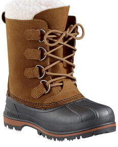 Baffin Women's Canada Snow Boots - Round Toe, Brown, hi-res