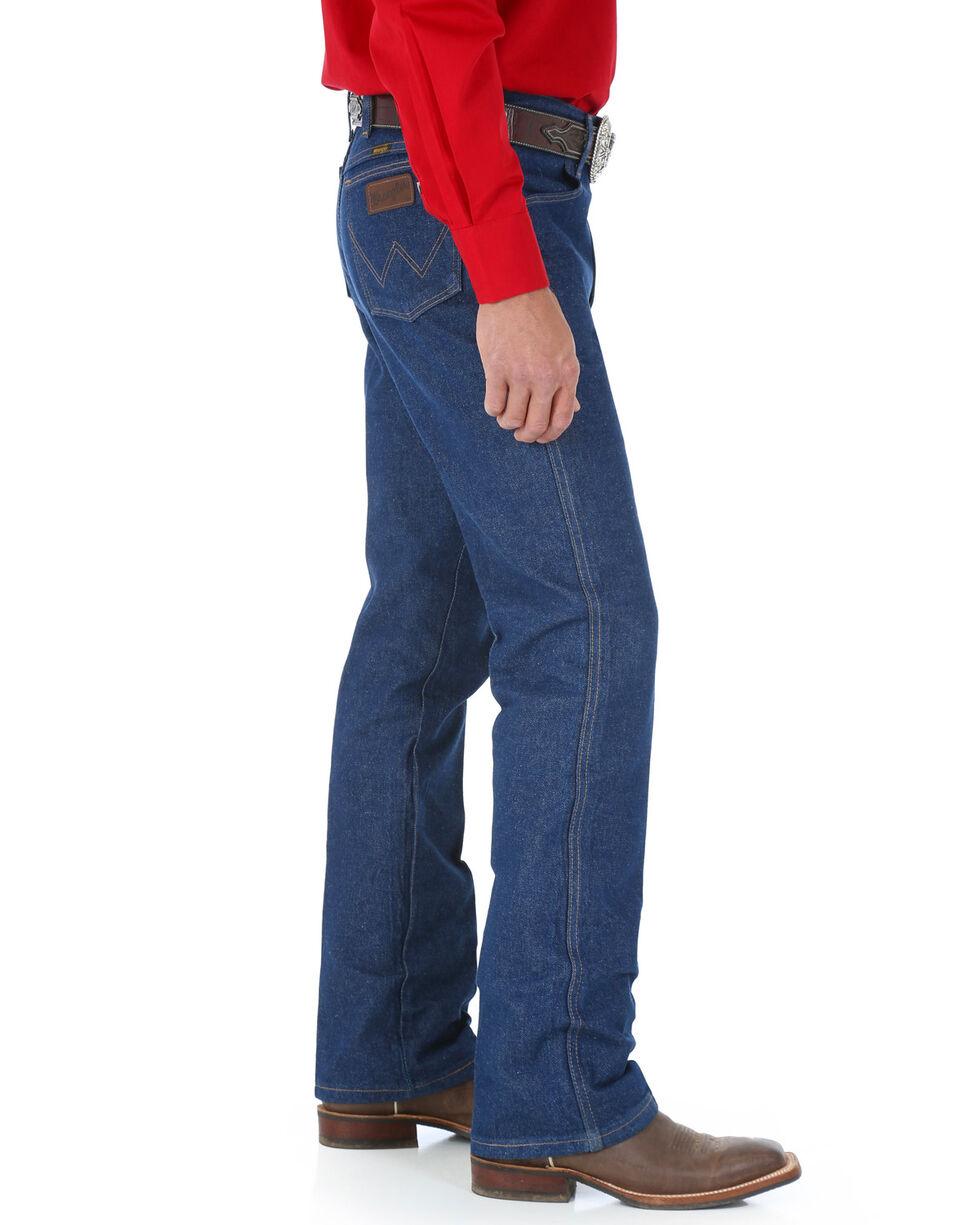 Wrangler Men's Cowboy Cut Traditional Regular Boot Jeans  , Blue, hi-res