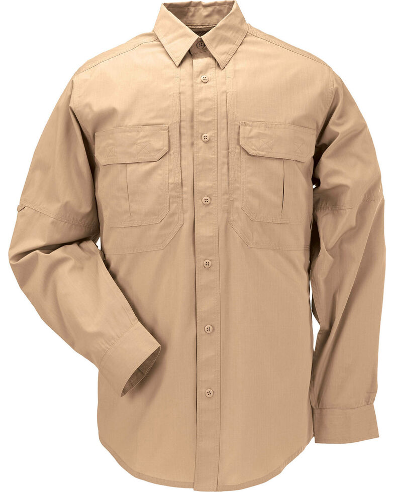 5.11 Tactical Taclite Pro Long Sleeve Shirt - 3XL, Coyote Brown, hi-res