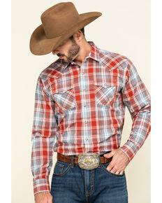 Ariat Men's Queslor Retro Plaid Long Sleeve Western Shirt , Multi, hi-res