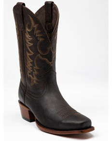 Moonshine Spirit Men's Novo Western Boots - Snip Toe, Dark Brown, hi-res