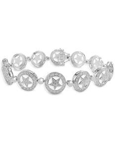 Kelly Herd Women's Small Star Bracelet, Silver, hi-res