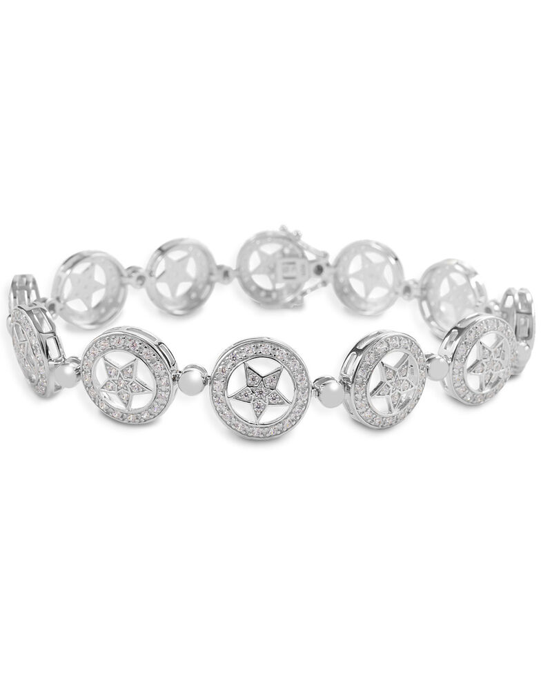 Kelly Herd Women's Small Star Bracelet, Silver, hi-res