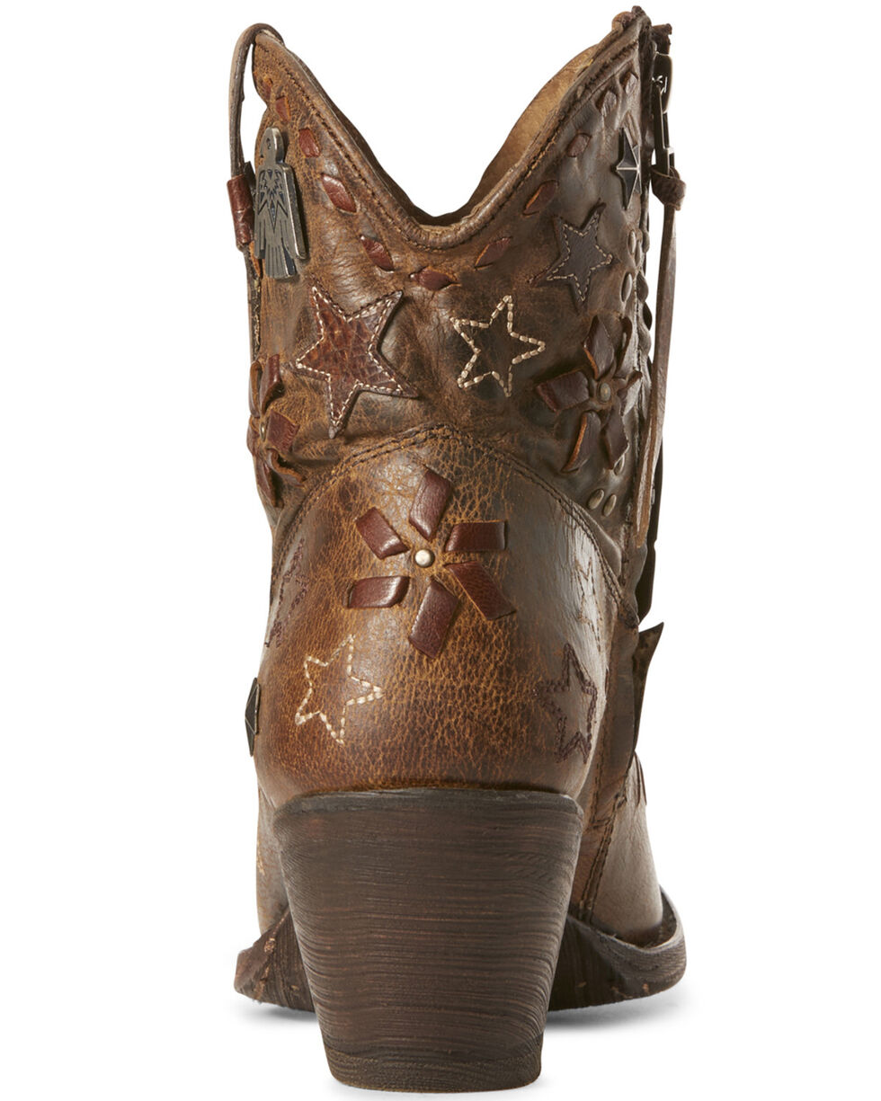 Ariat Women's Starla Woodsmoke Western Booties - Snip Toe, , hi-res