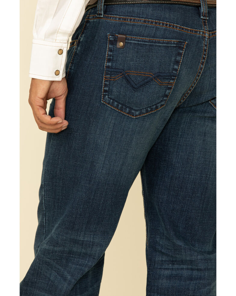 Cody James Core Men's Shindig Dark Wash Thermolite Performance Stretch Relaxed Straight Jeans , Blue, hi-res