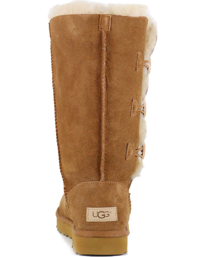 UGG Women's Bailey Button Triplet II Water Resistant Boots, Chestnut, hi-res