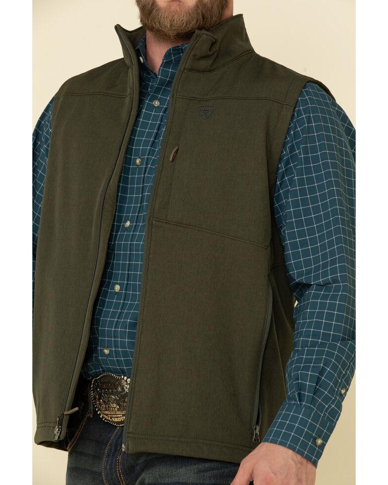 Ariat Men's Green Vernon 2.0 Softshell Vest , Green, hi-res