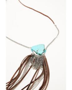 Idyllwind Women's Feelin' It Fringe Necklace, Silver, hi-res