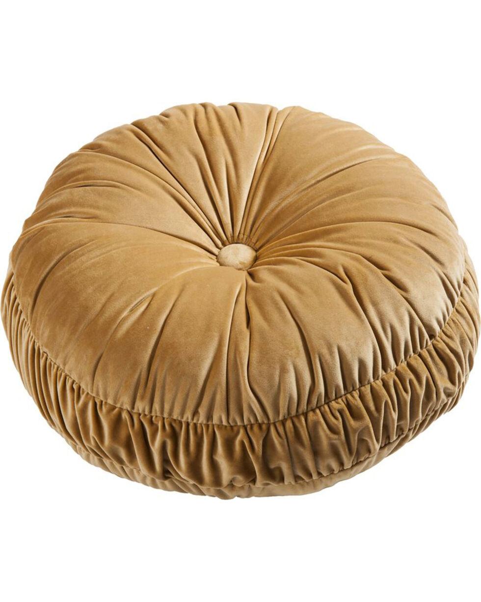 HiEnd Accents Velvet Round Pillow, Multi, hi-res