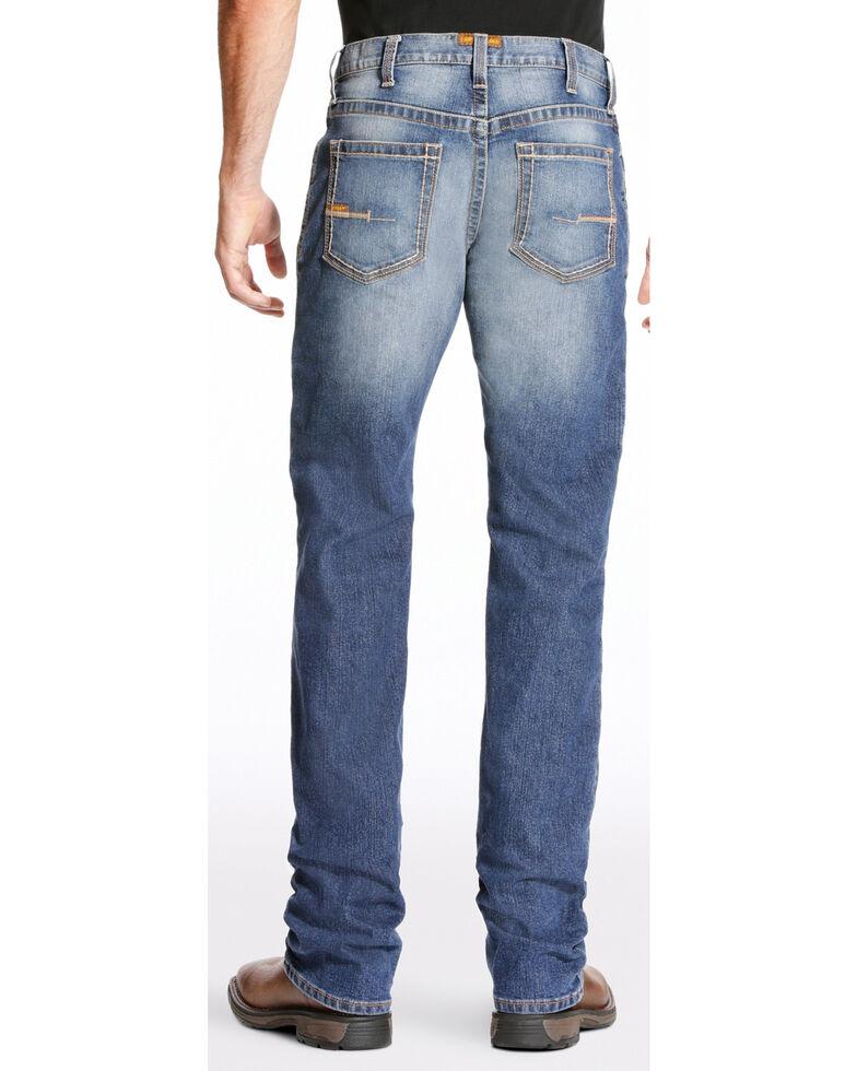 Ariat Men's Rebar M4 Edge Bootcut Jeans - Big, Indigo, hi-res
