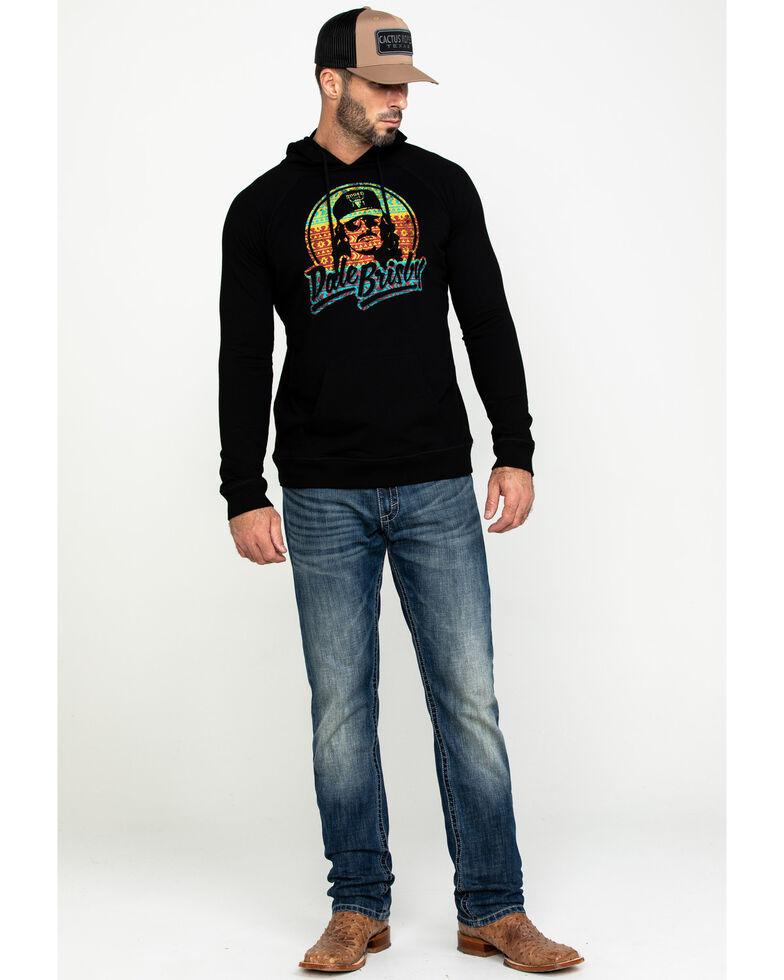 Dale Brisby Men's Multi Aztec Logo Hooded Sweatshirt , Black, hi-res