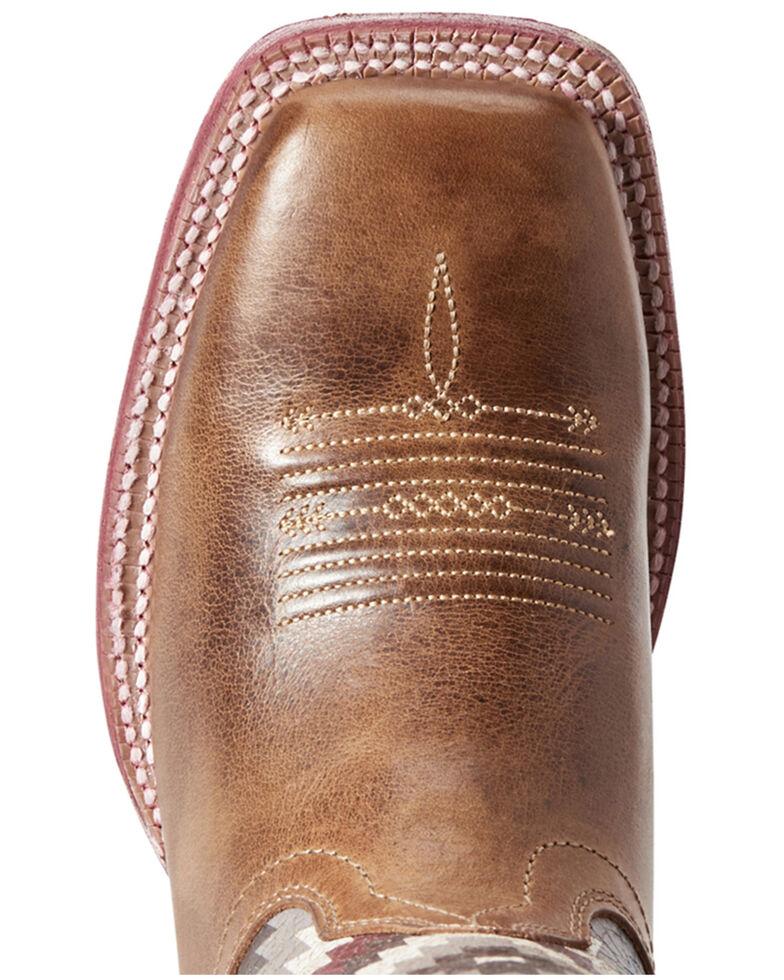 74bee41f8f1 Ariat Women's Aztec Savanna Western Boots - Wide Square Toe