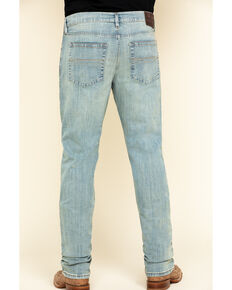 Cody James River Men's Light Wash Stretch Slim Straight Jeans , Blue, hi-res