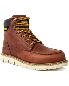 DeWalt Men's Flex Moc Work Boots - Soft Toe, Black, hi-res