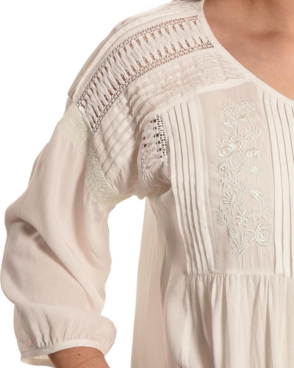 Tasha Polizzi Women's Ivory Georgia Shirt, Ivory, hi-res