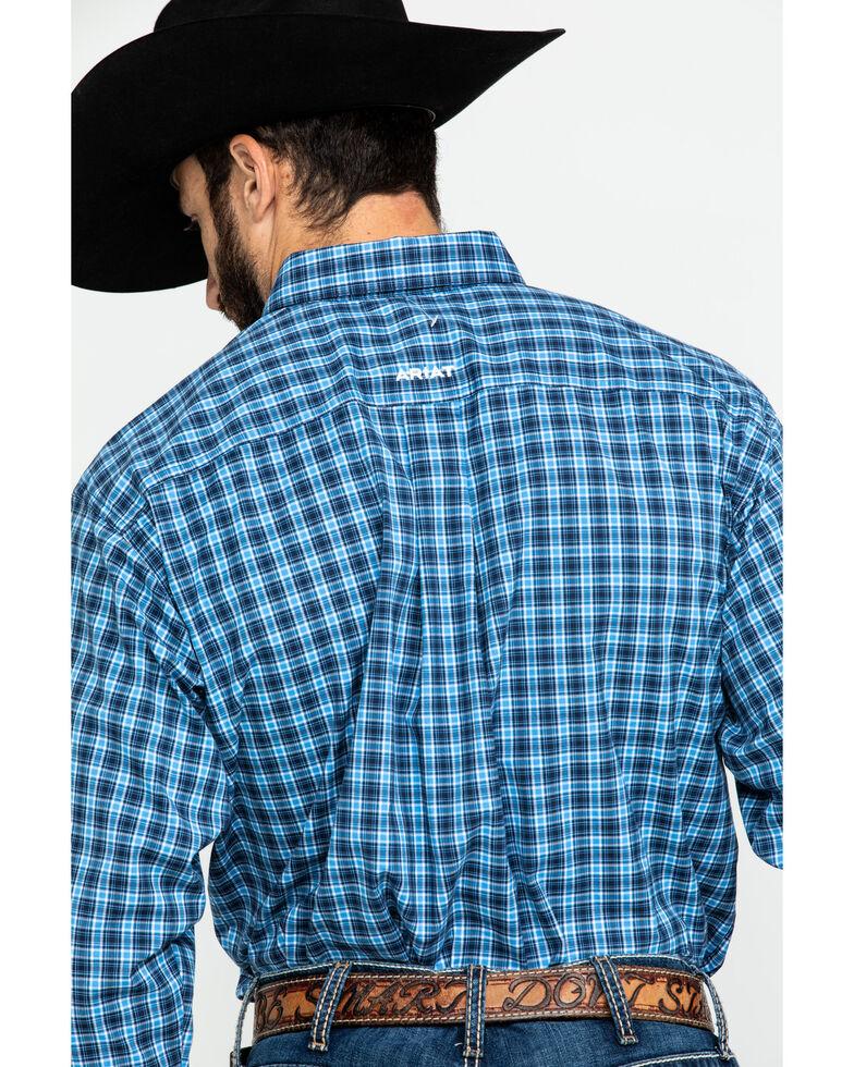 Ariat Men's Tompkins Stretch Plaid Long Sleeve Western Shirt , Multi, hi-res