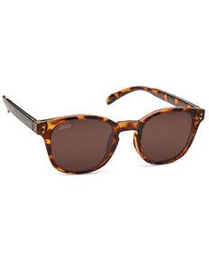 Hobie Wright Shiny Brown Tortoise & Copper PC Polarized Sunglasses , Brown, hi-res
