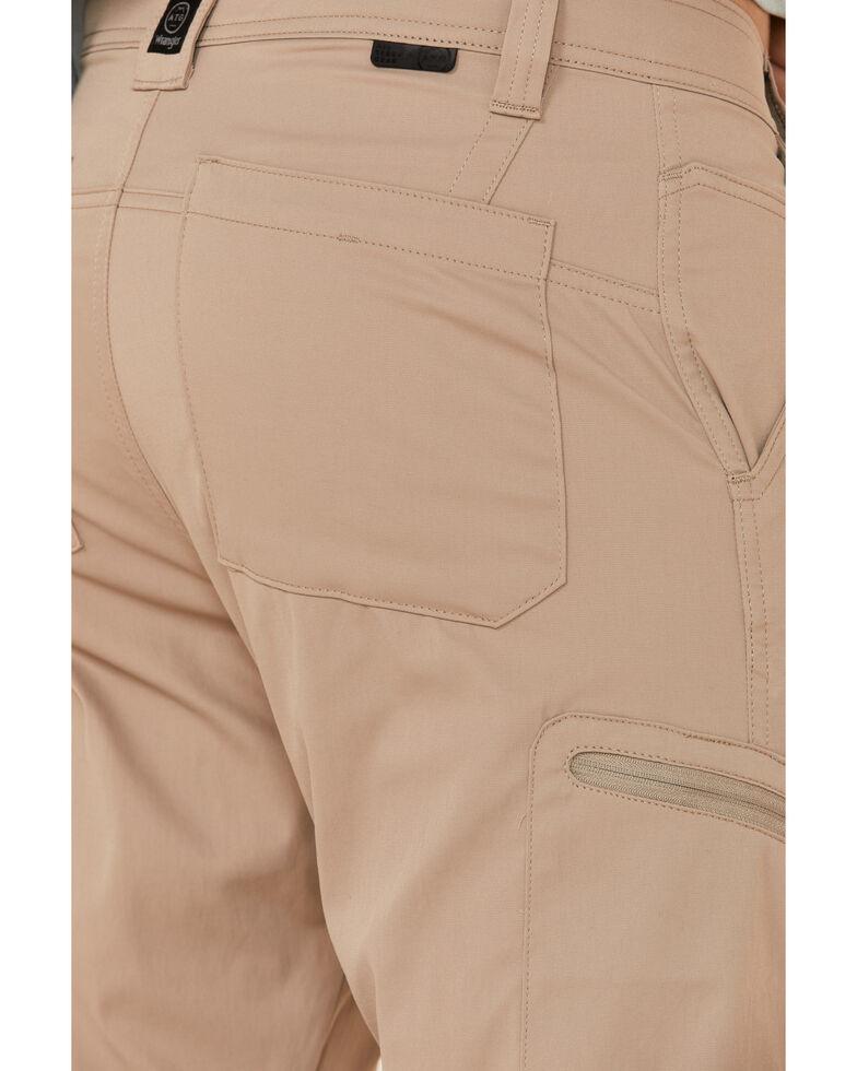 Wrangler All-Terrain Men's Desert Khaki Zip Cargo Synthetic Pants , Beige/khaki, hi-res