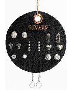 Shyanne Women's Arrow Earring 8 Pack Patch Set, Silver, hi-res