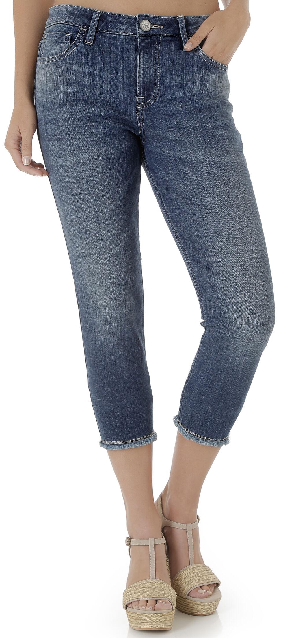 Wrangler Women's Retro Crop Skinny Jeans , Indigo, hi-res