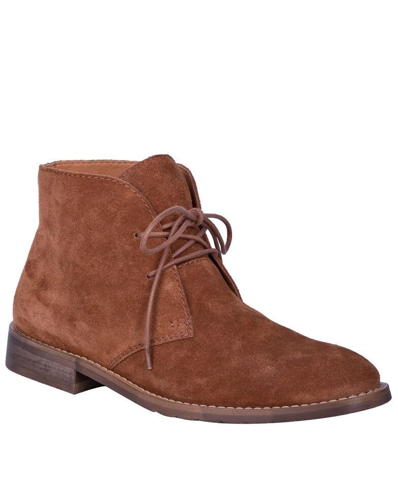 Dingo Men's Suede Opie Shoes - Round Toe, Brown, hi-res