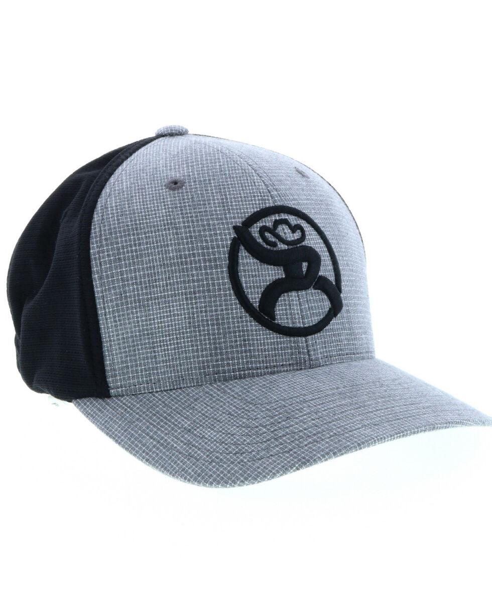 HOOey Men's Roughy 2.0 Ball Cap , Black, hi-res