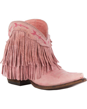 Junk Gypsy by Lane Women's Spitfire Booties - Snip Toe , Light Pink, hi-res