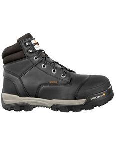"Carhartt Men's Ground Force 6"" Work Boots - Composite Toe, Black, hi-res"